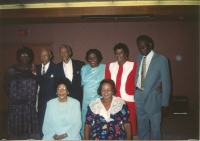 Gaskin Family Members at Reunion Banquet 1988